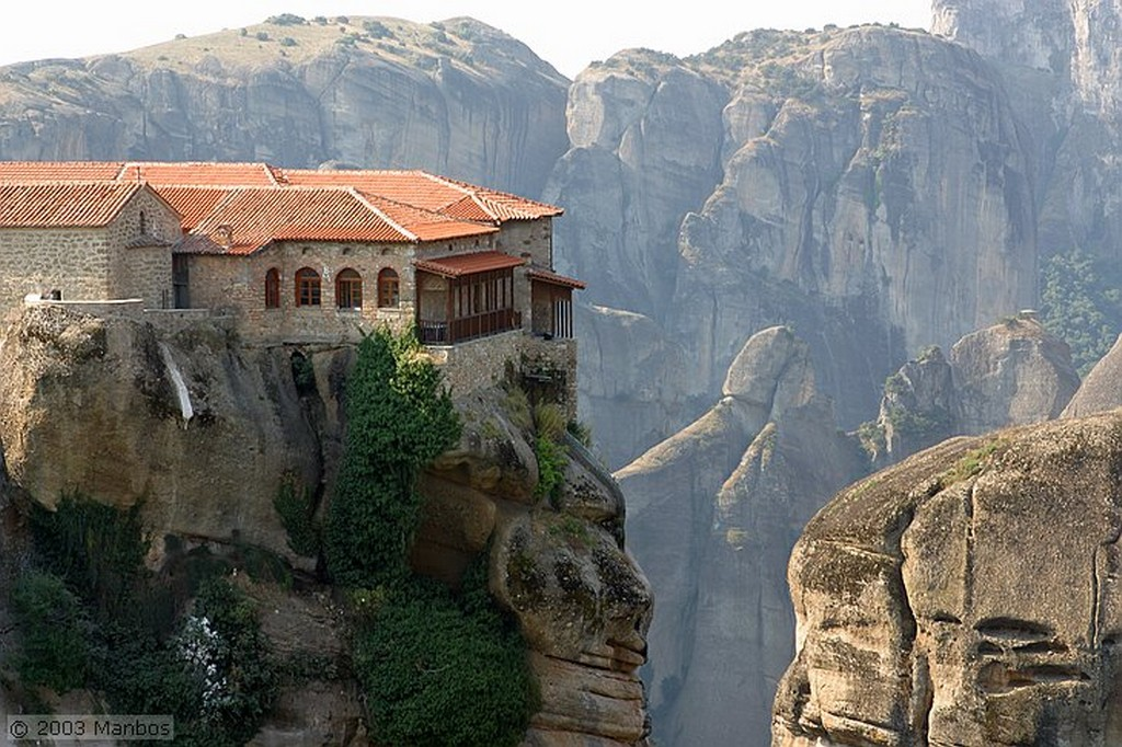 Monasterios de Meteora Monasterios de Meteora