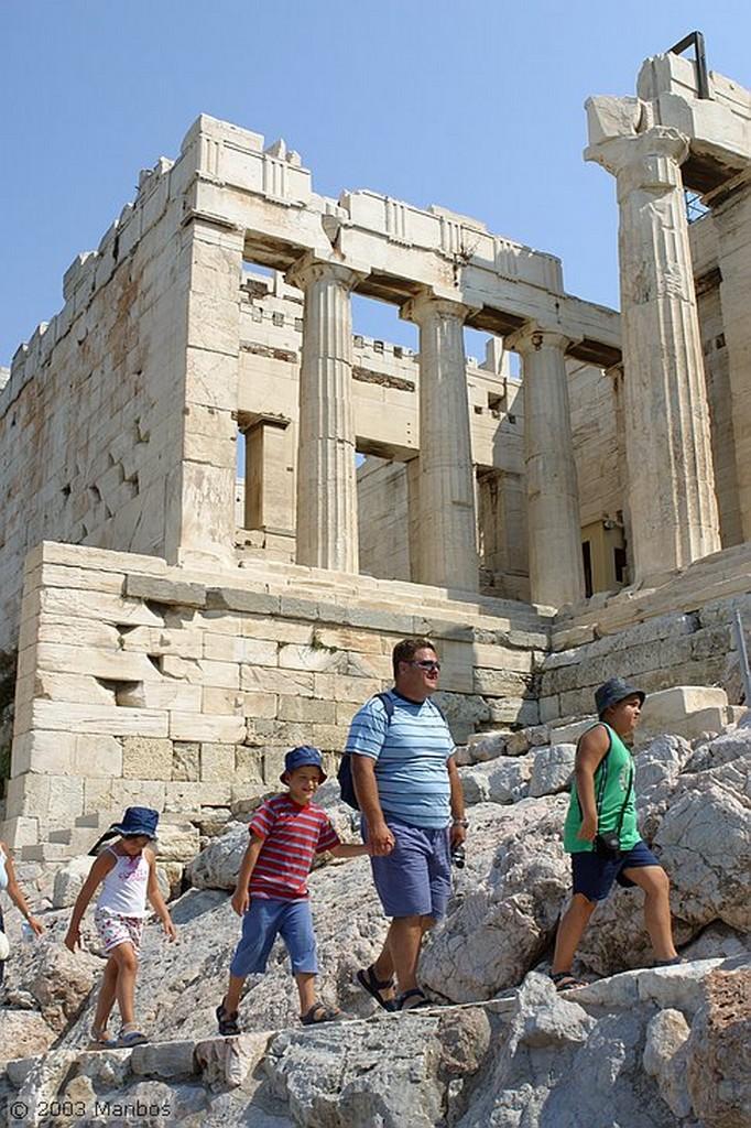 Atenas Partenon Atica