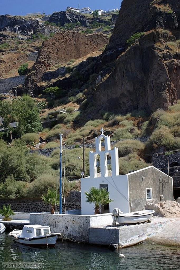 Santorini Puerto Viejo de Fira Santorini
