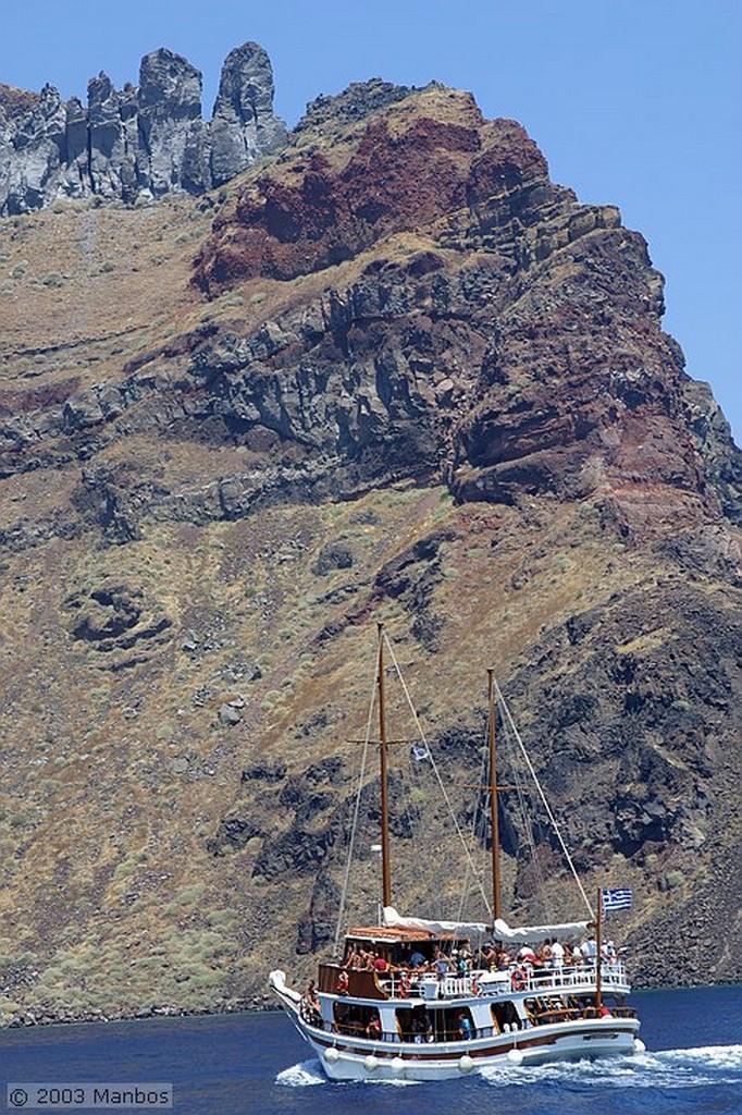 Santorini Puerto de Thirassia Santorini