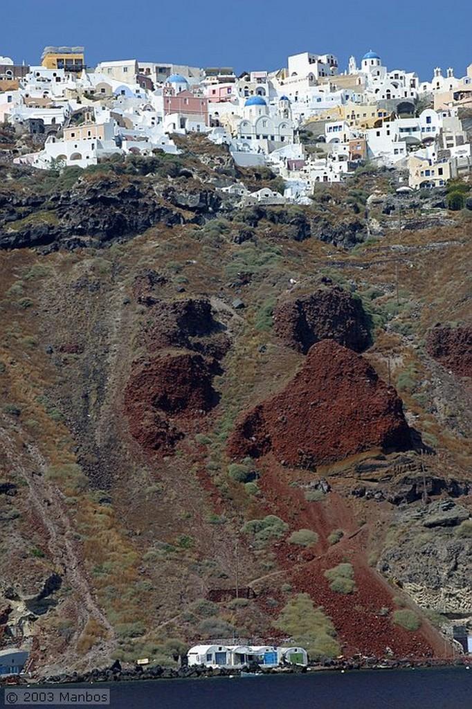 Santorini Iglesia en Pyrgos Santorini