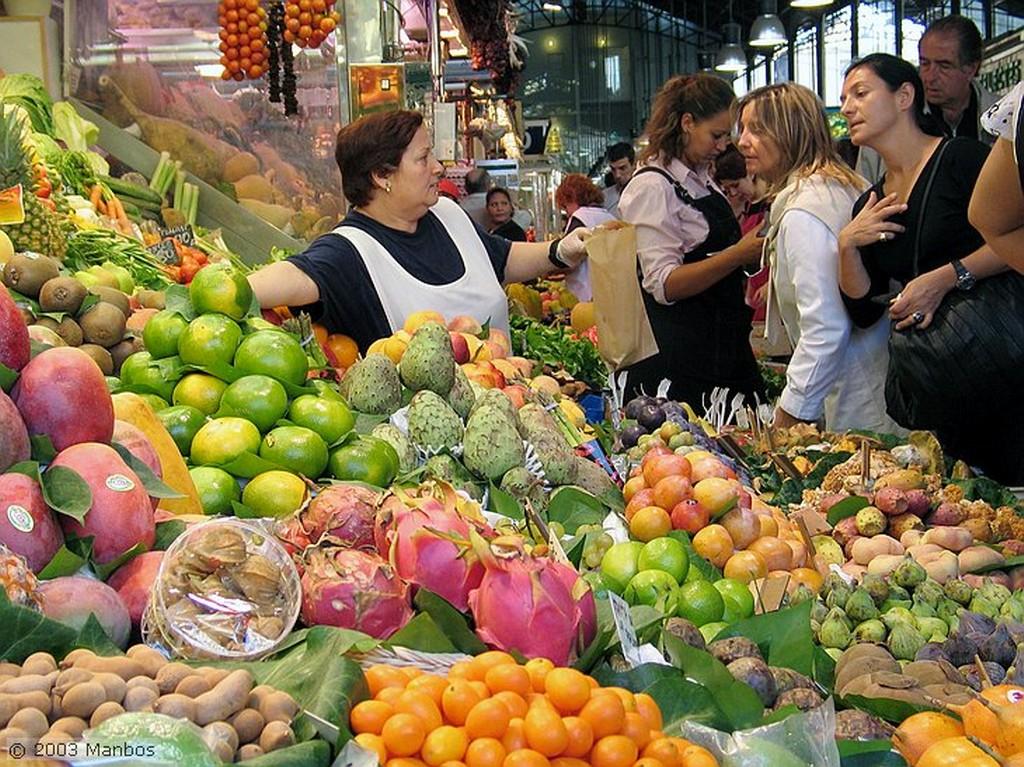 Barcelona Entrada del mercado Barcelona