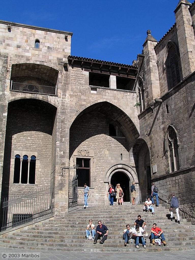 Barcelona Torre del Palau Reial Major Barcelona
