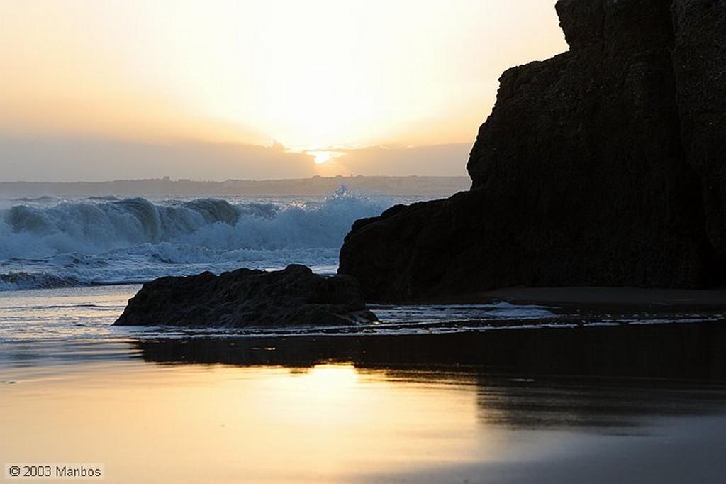 Portimao Puesta de Sol en la Playa Arade