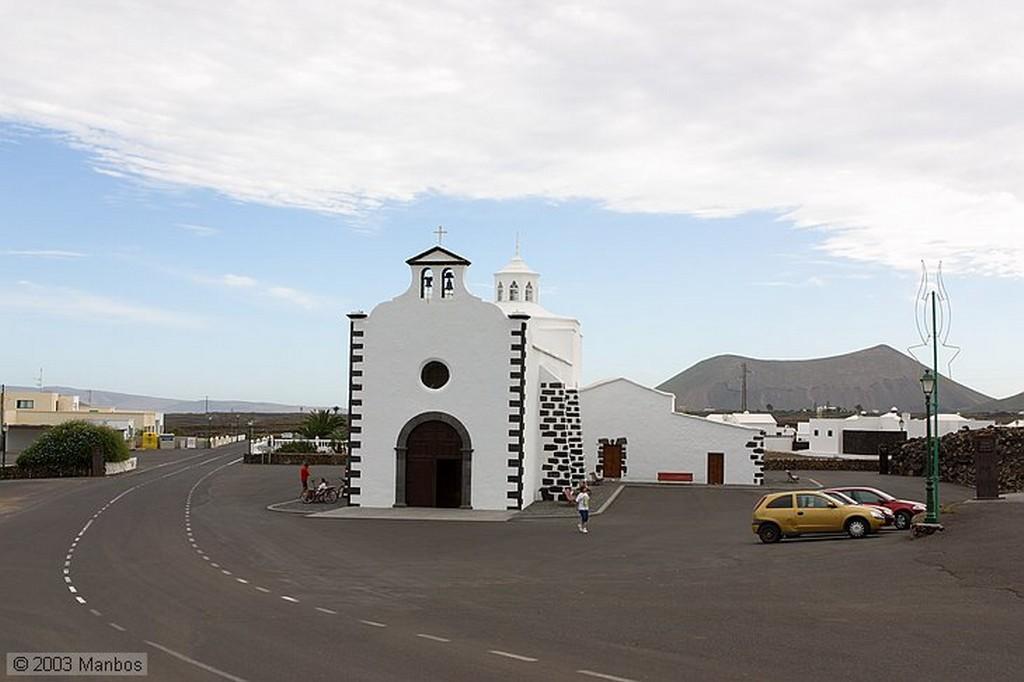 Lanzarote Iglesia de Nuestra Señora del Rosario Canarias