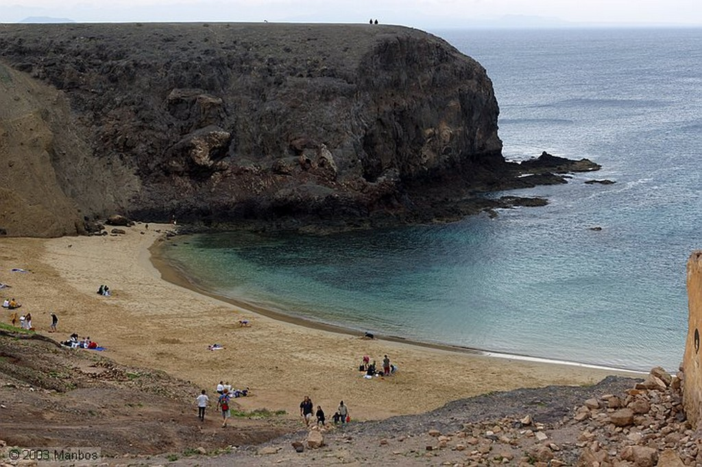Lanzarote Playa Papagayo Canarias