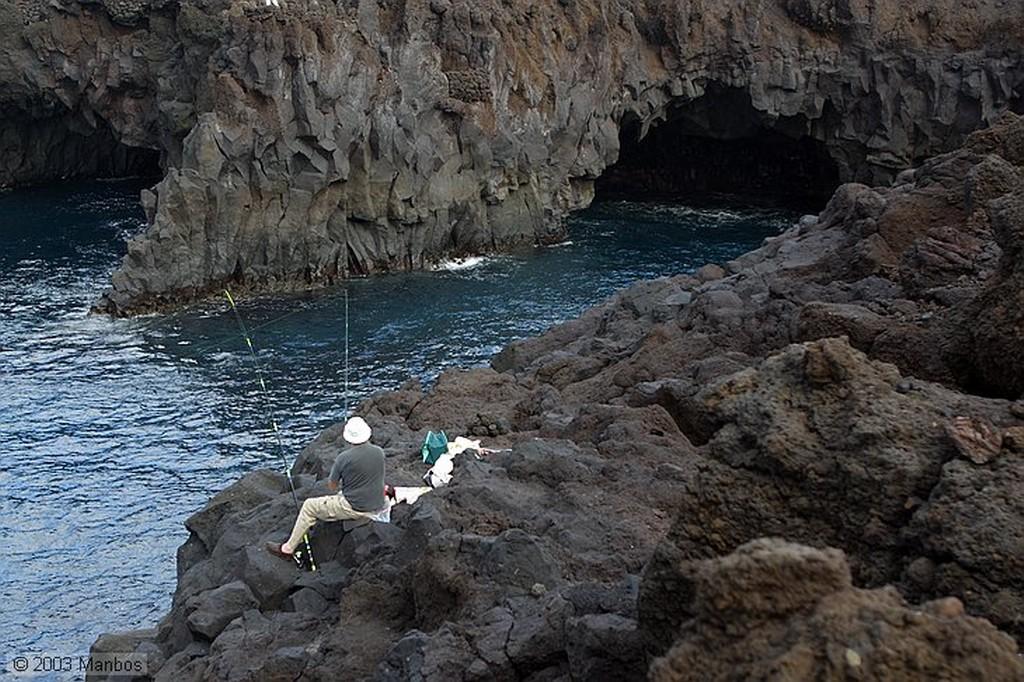 Lanzarote Calles de El Golfo Canarias