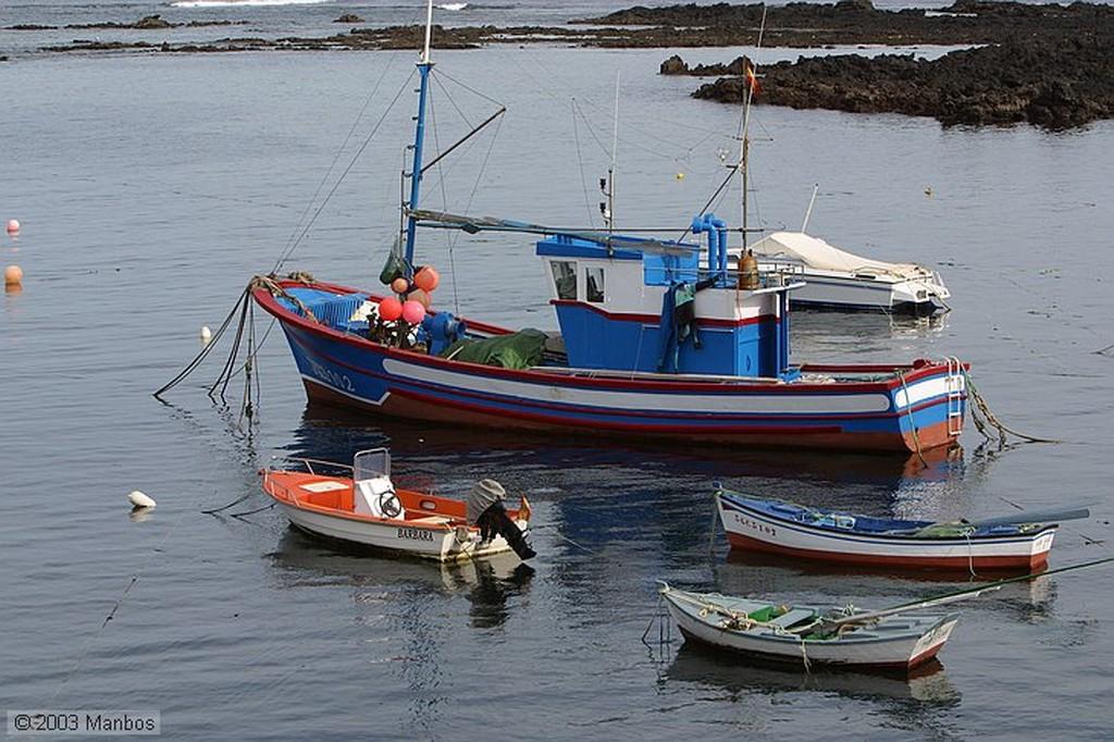 Lanzarote Puerto de Orzola Canarias