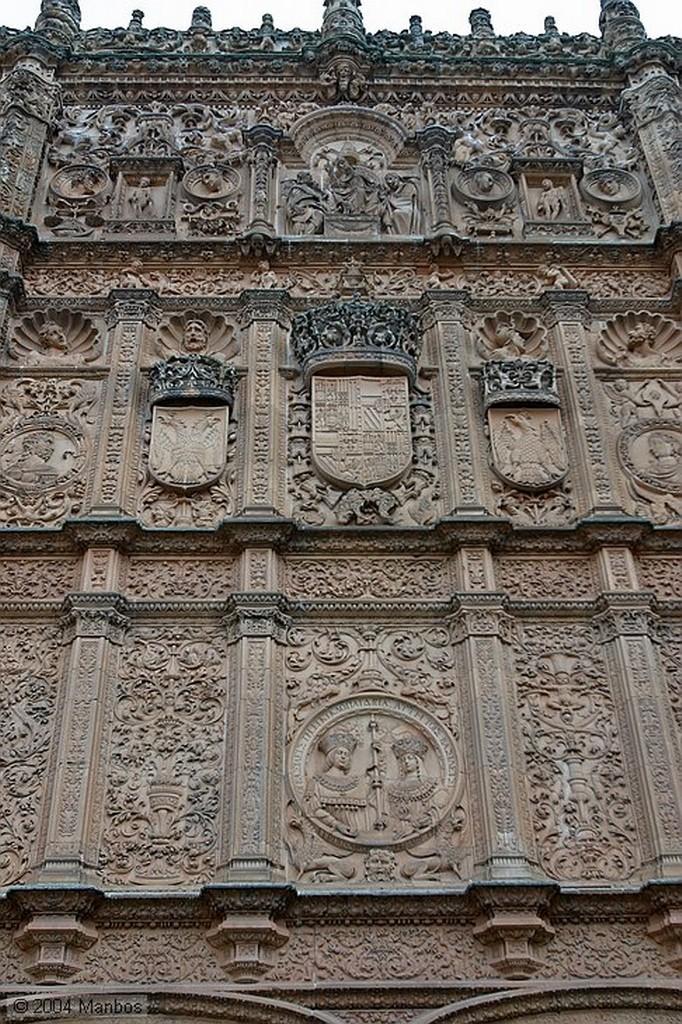 Salamanca La rana de la Universidad Salamanca