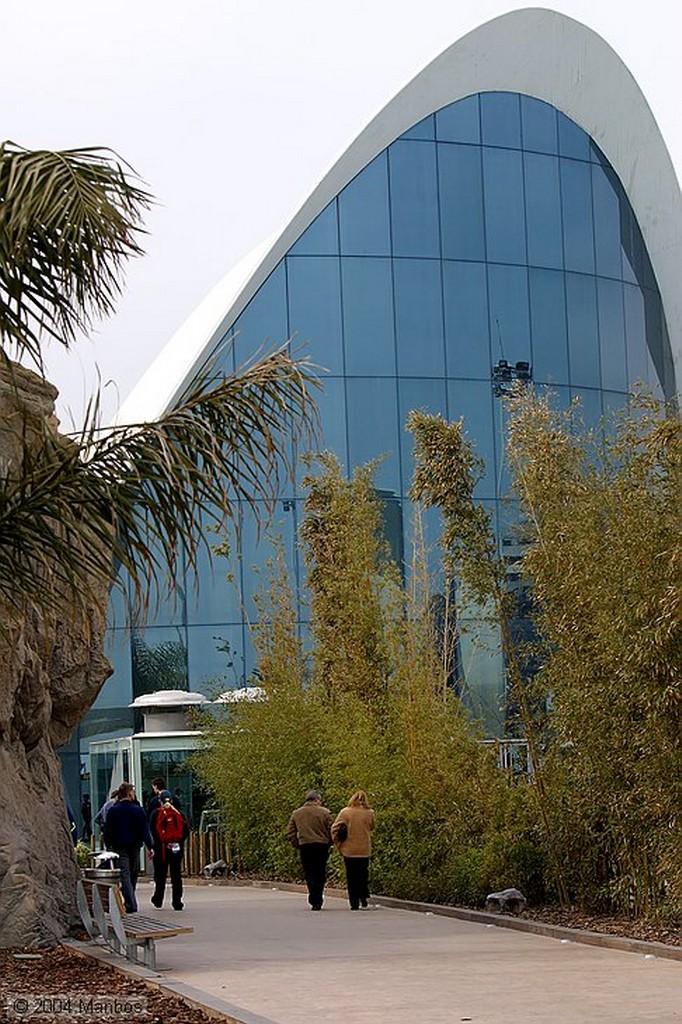 Ciudad de las Artes y las Ciencias Sirenas en La Rompiente Valencia