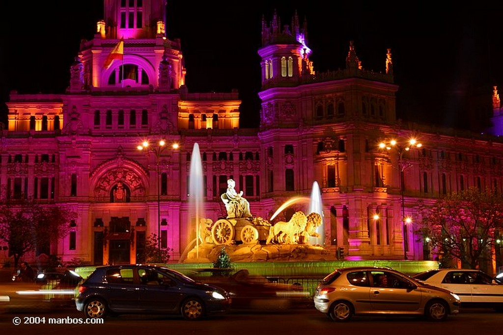 Madrid La Cibeles Madrid