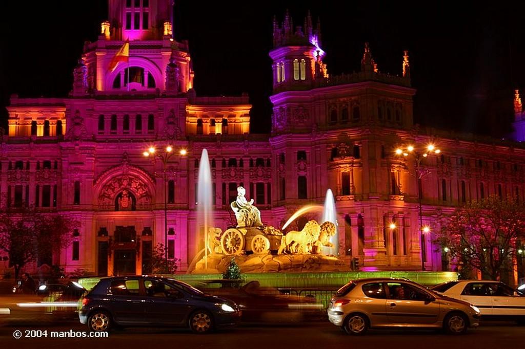 Madrid La Cibeles Madrid