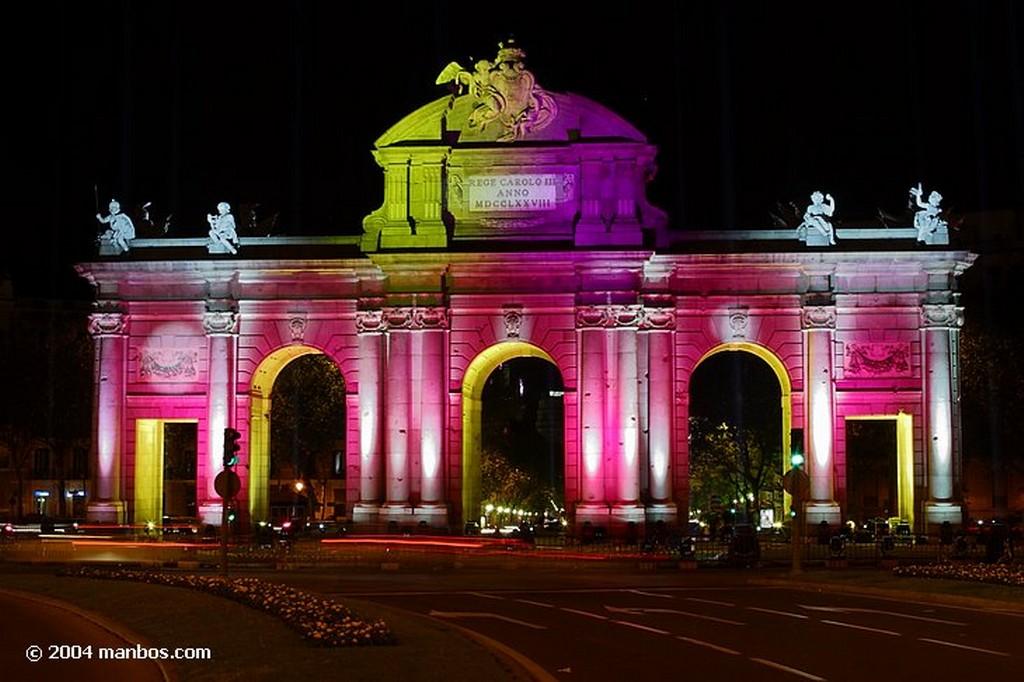 Madrid Puerta de Alcala Madrid