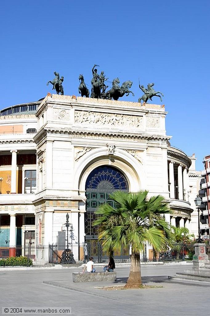 Palermo Estatua de Settimo Severo Sicilia
