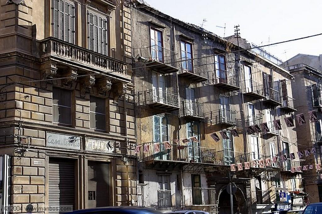 Palermo Calle de Palermo Sicilia