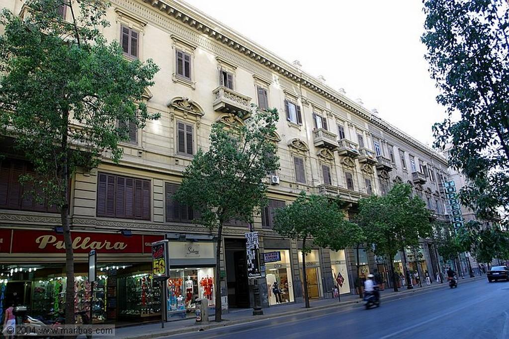 Palermo Estación de Palermo Sicilia