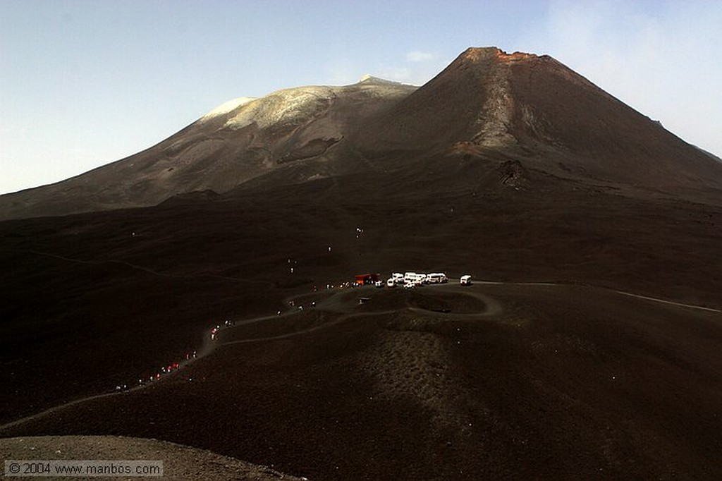 Volcán Etna Sicilia