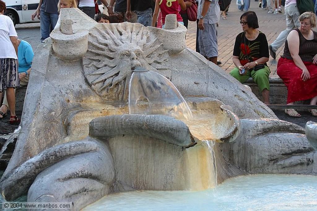 Roma Fontana della Barcaccia Roma