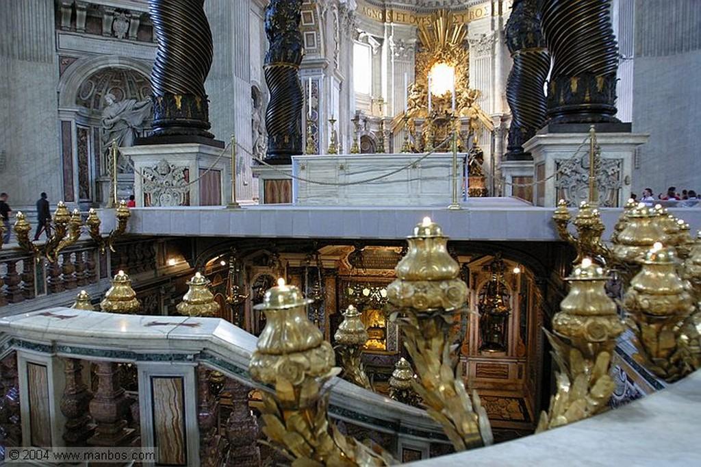 Vaticano Baldaquino Vaticano