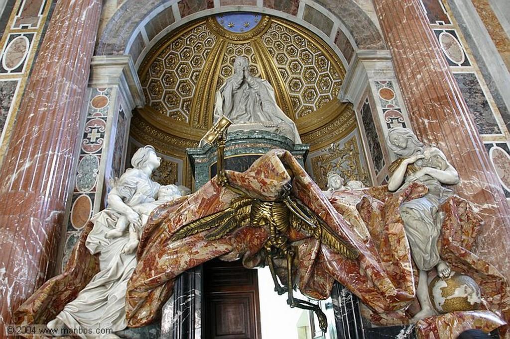 Vaticano Tumba de Alejandro VII Vaticano