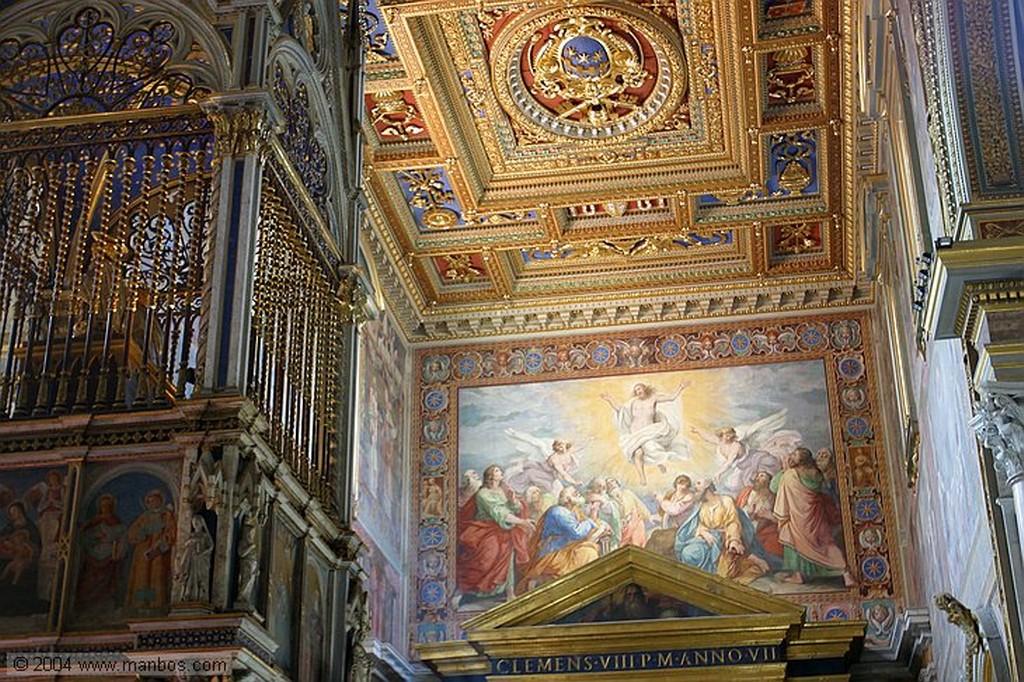 Roma Claustro de San Juan de Letran Roma