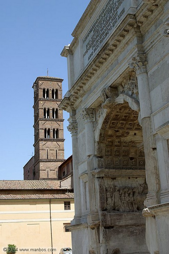 Roma Via Sacra Roma