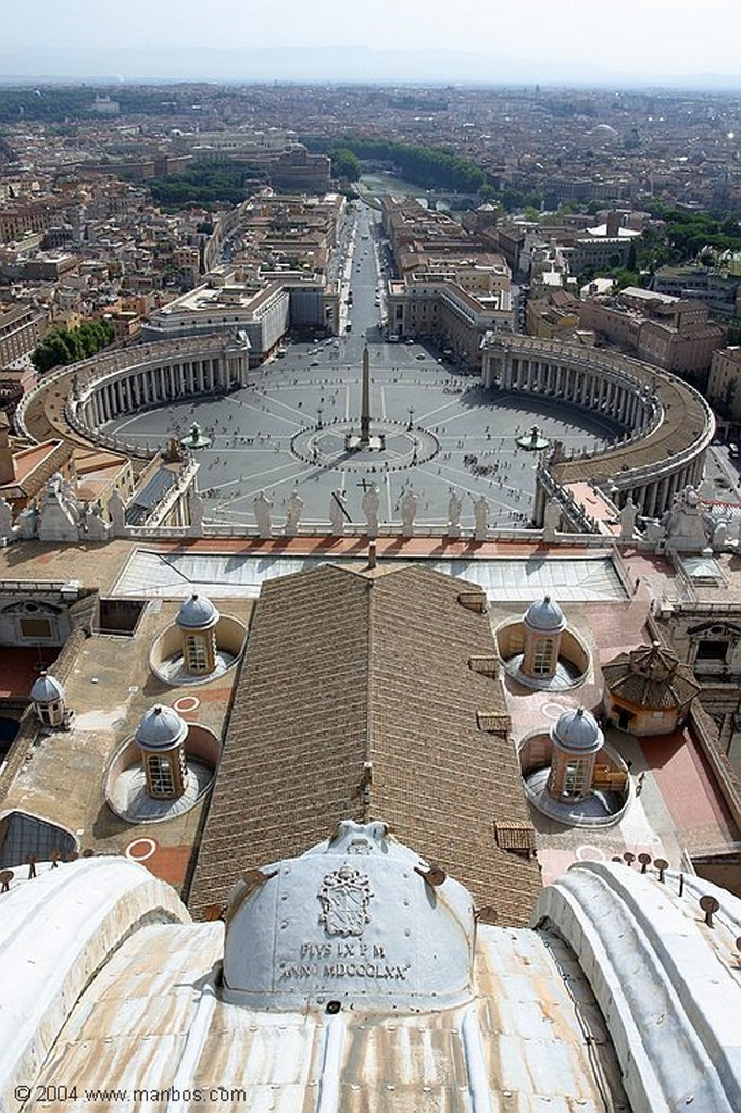Vaticano Plaza de San Pedro Vaticano