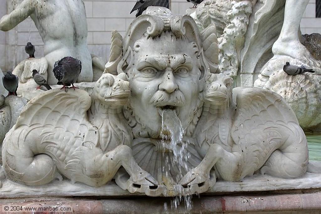 Roma Fontana del Moro Roma