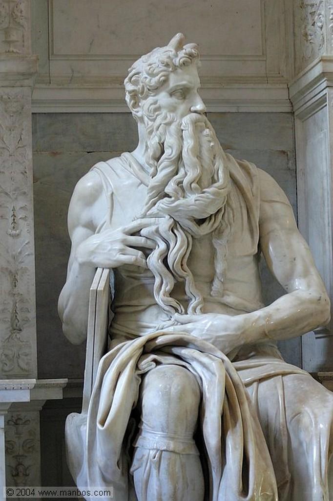 Roma El Moises de Miguel Angel Roma