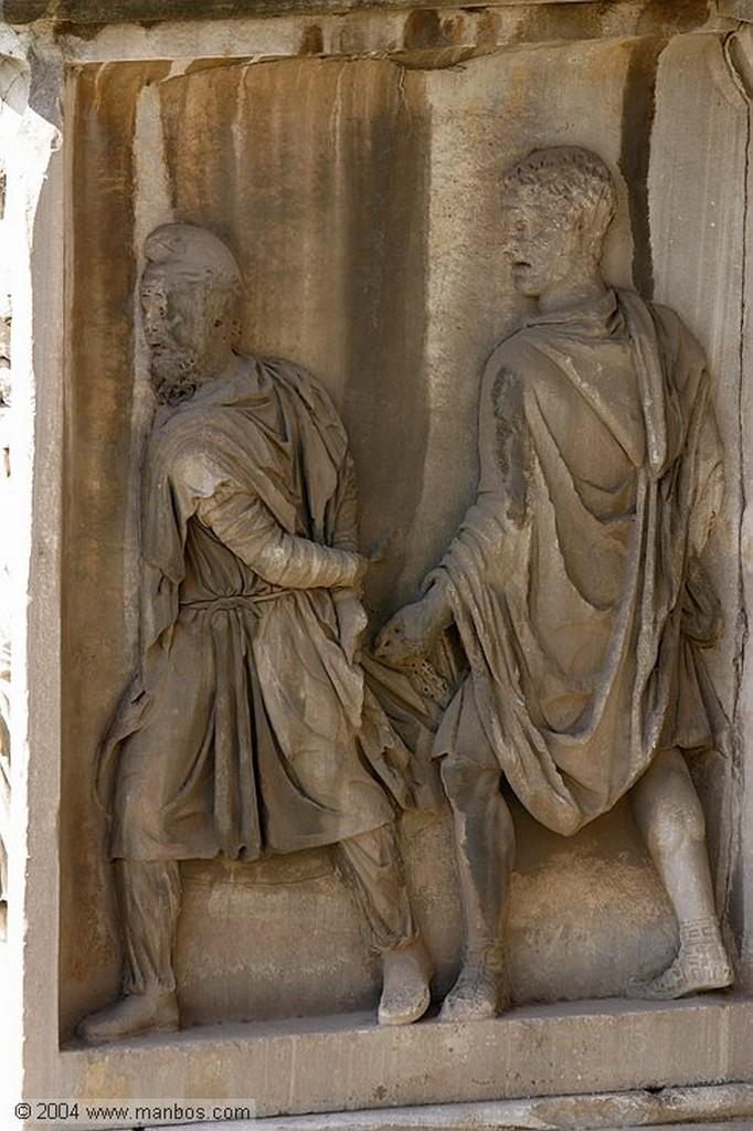 Roma Calzada romana Roma