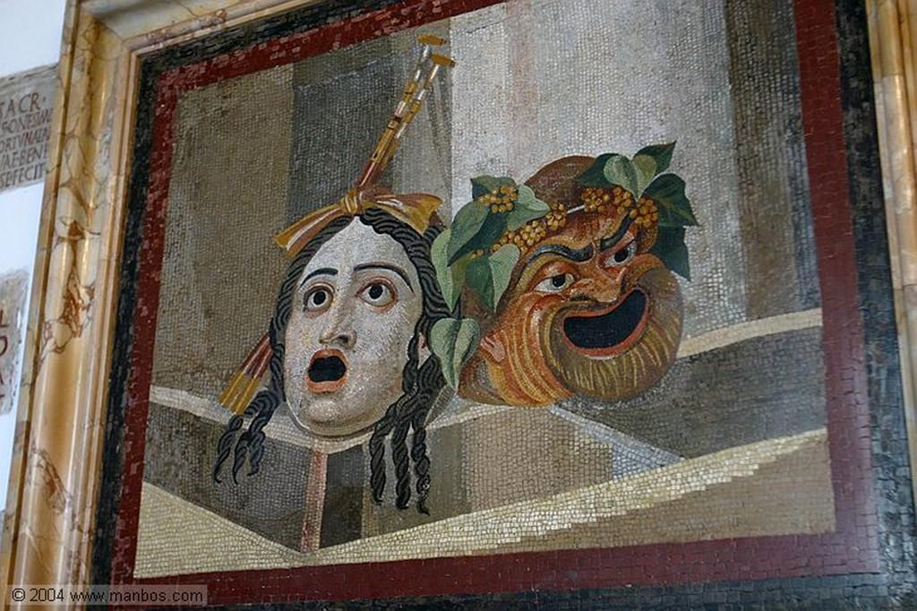 Roma Mosaico de las palomas - Palazzo Nuovo Roma
