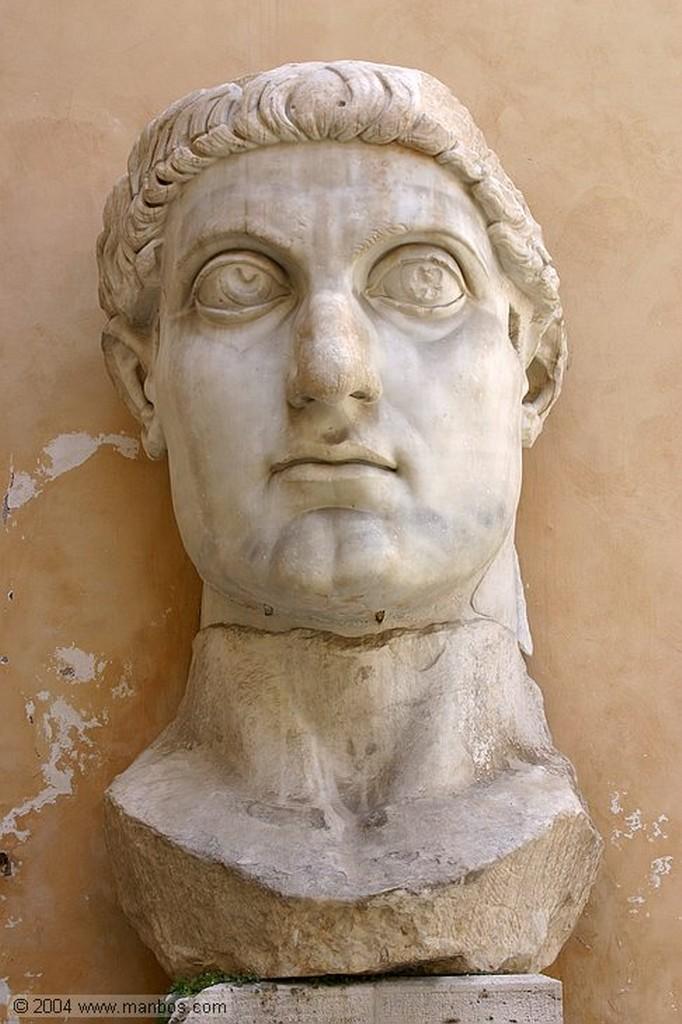 Roma Mano de Constantino El Grande Palazzo dei Conservatori Roma