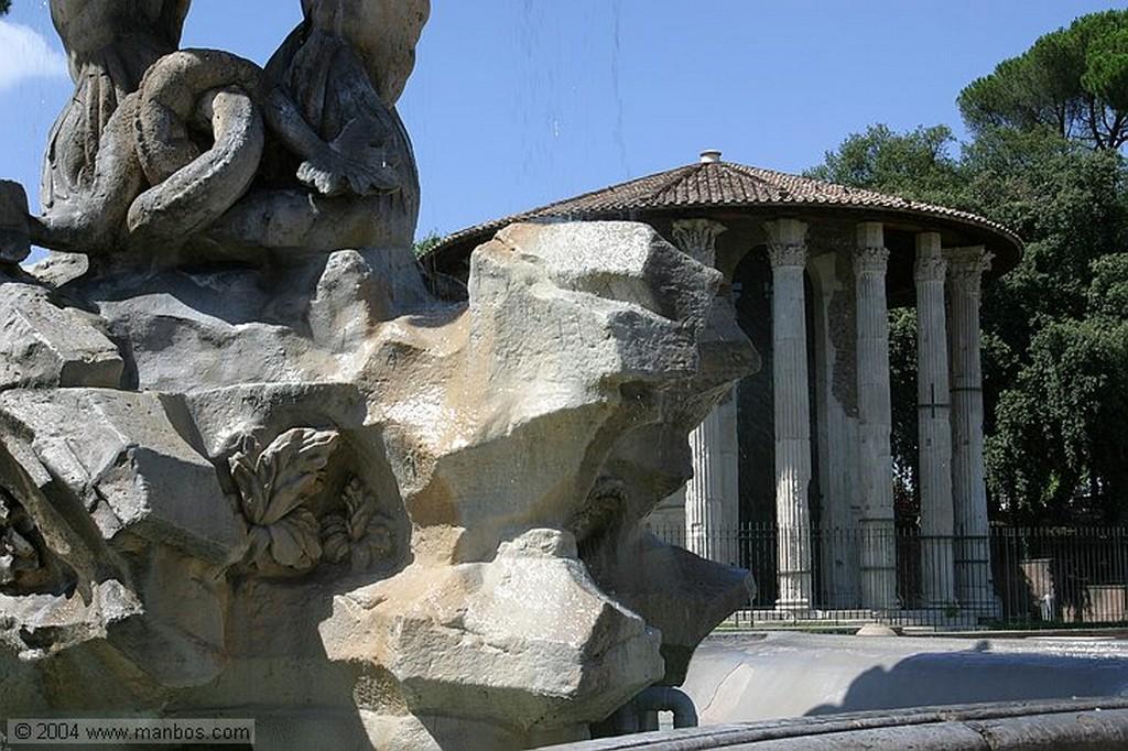 Roma Templo del Forum Boarium Roma