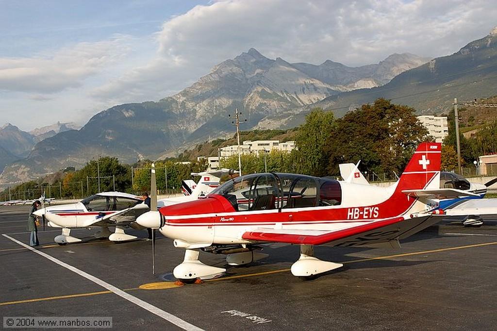 Tour Mont-Blanc-Cervino-Aletsch Piloto Mr. K. Delaloye Valais