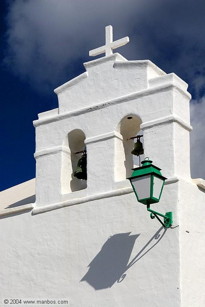 Lanzarote Ermita de San Marcial del Rubicon Canarias