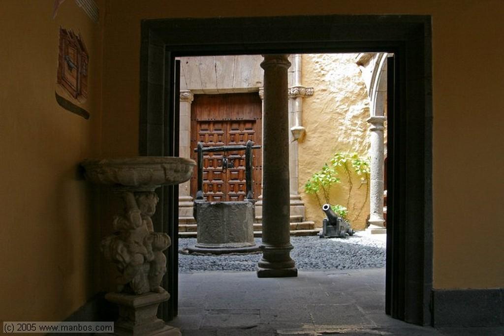 Gran Canaria Fuente de la Casa de Colón Canarias