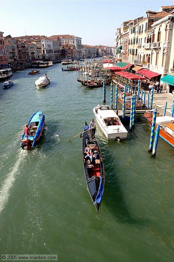 Venecia Puente Rialto Venecia