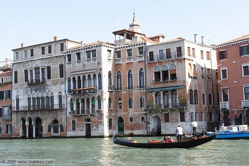 Venecia Gondolero Venecia