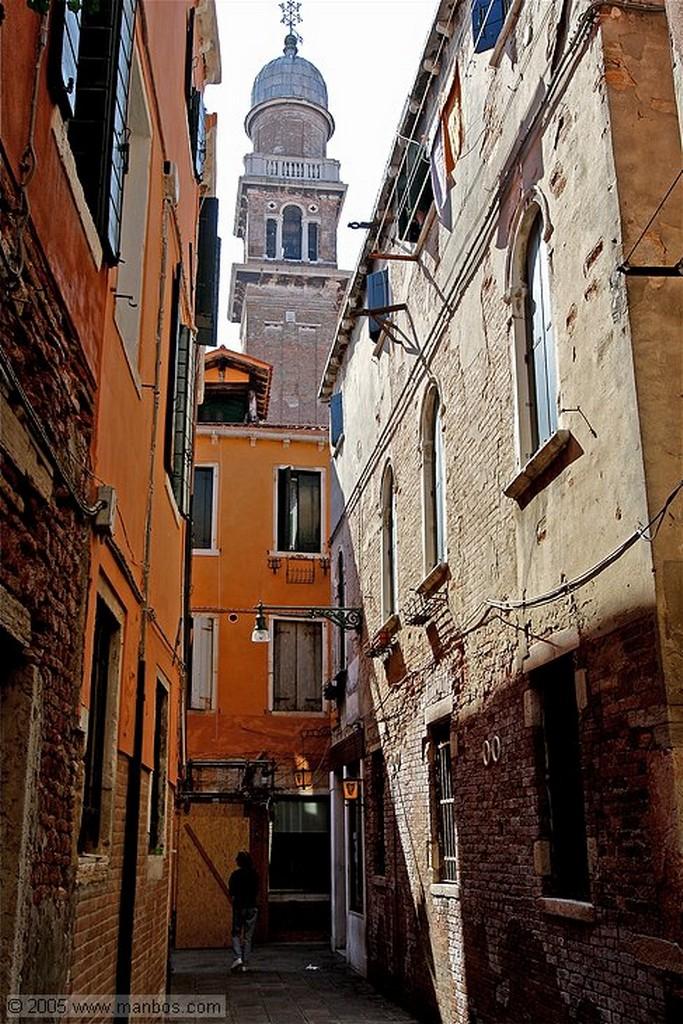 Venecia Puente de madera Venecia