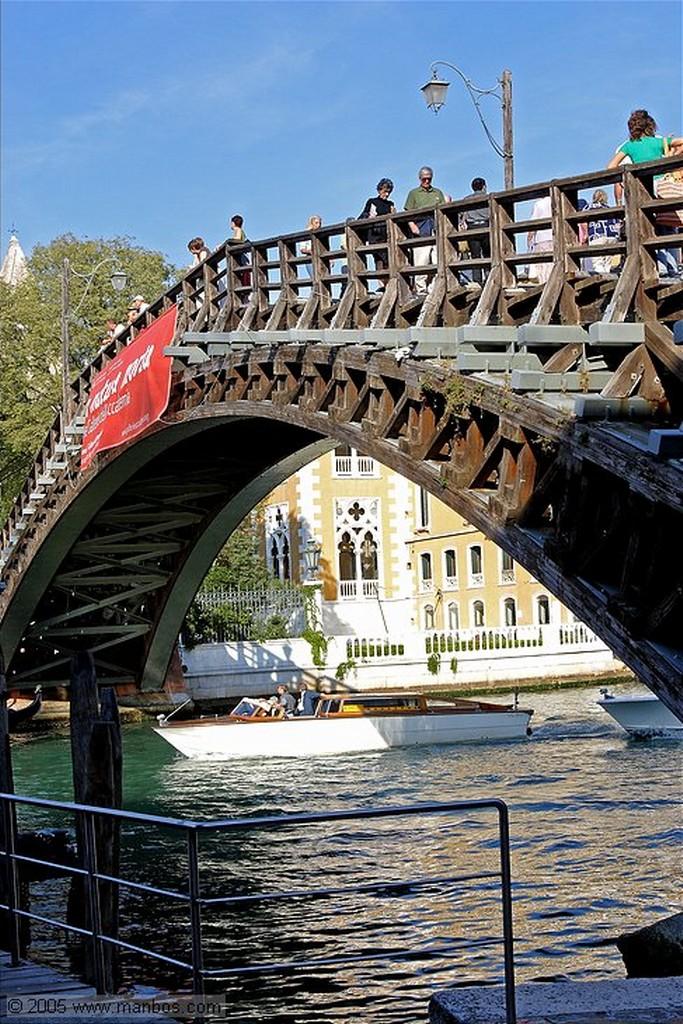 Venecia El Gran Canal desde el Puente de la Academia Venecia