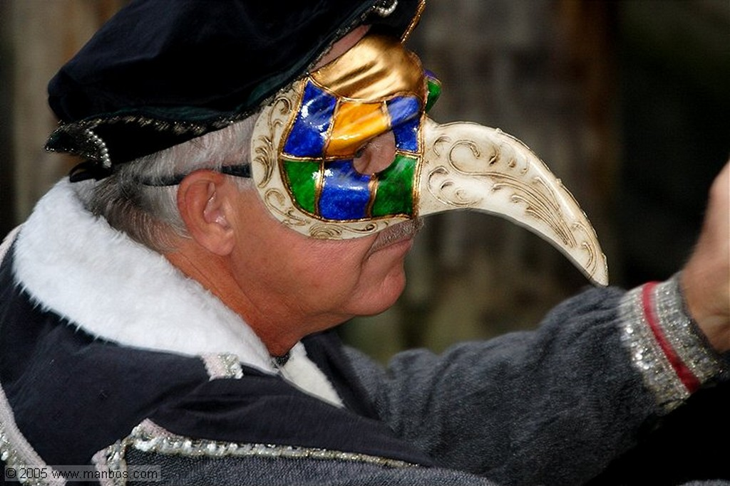 Venecia Mascara de carnaval Venecia