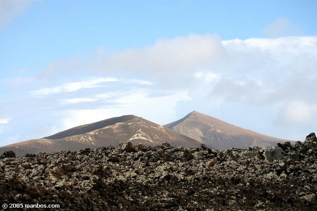 Lanzarote Montañas de fuego Canarias