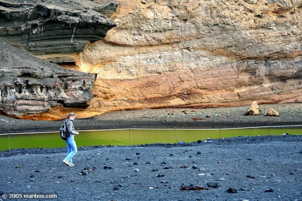 Lanzarote Laguna verde Canarias