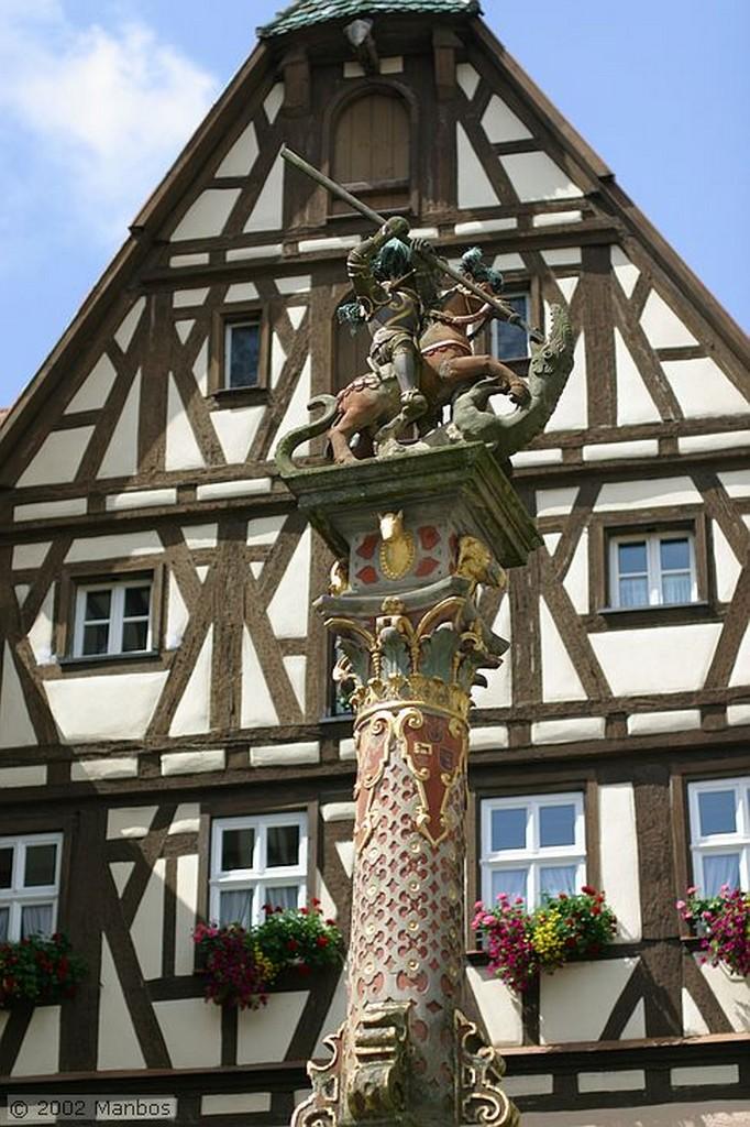 Rotemburgo Columna Baviera