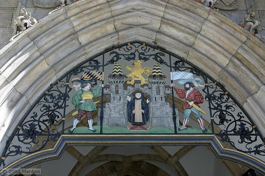 Munich Reloj de Cuco de la Catedral Alemania