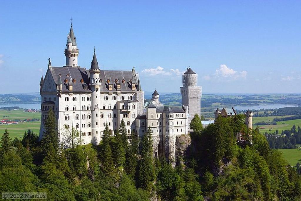 Foto de Castillo de Luis II, Castillo de Neuschwanstein, Baviera, Alemania - Castillo de Luis II - El Rey Loco