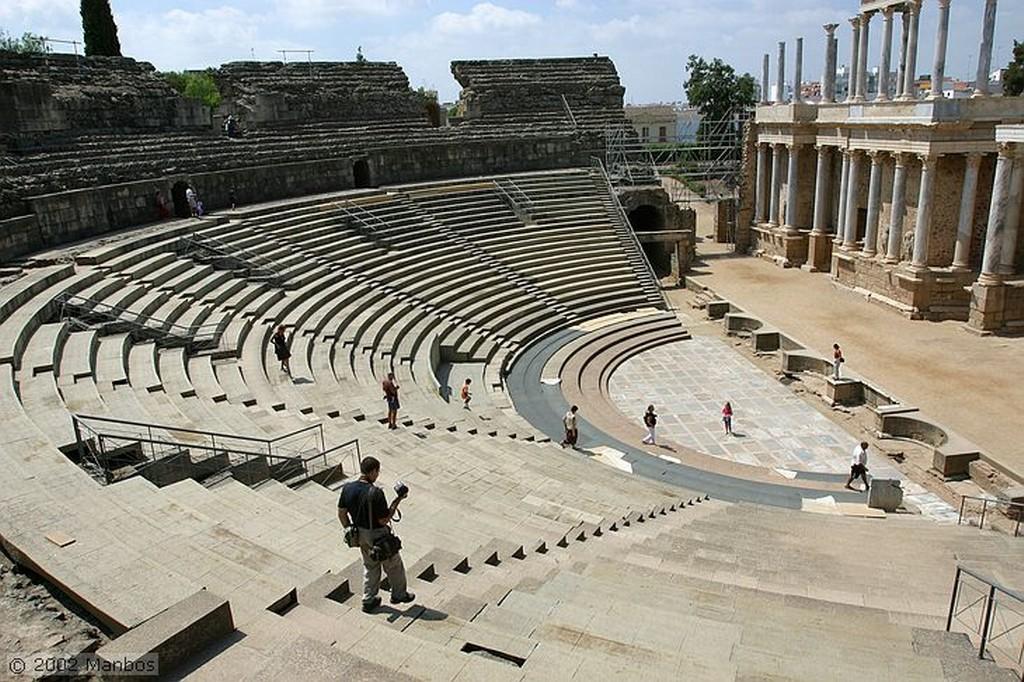 Foto de Mérida, Teatro Romano, Badajoz, España - Teatro romano