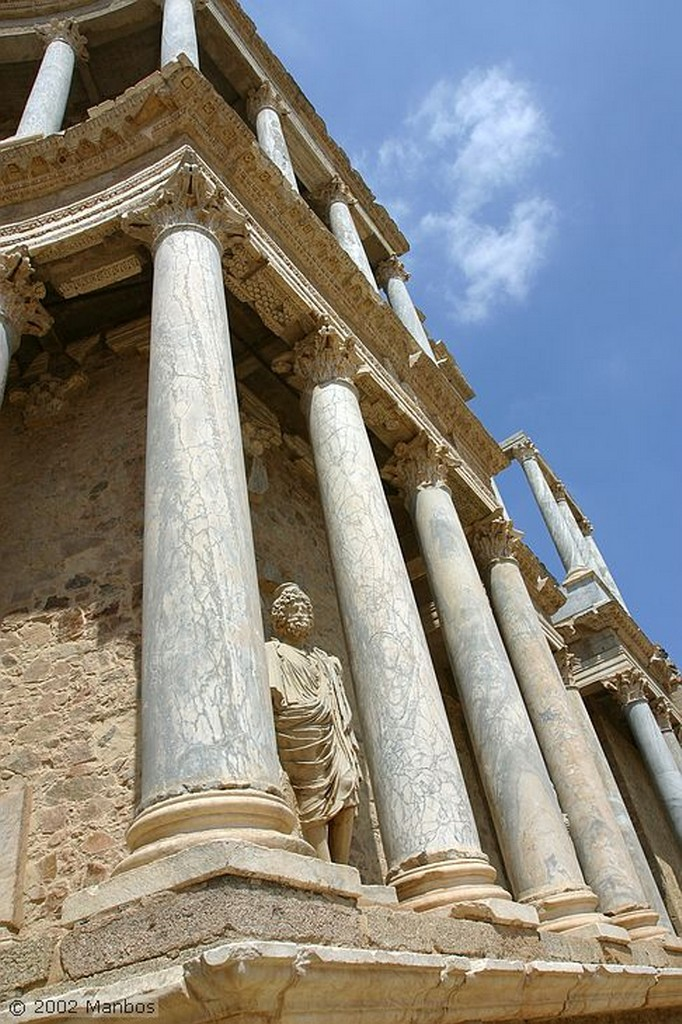 Mérida Teatro romano Badajoz