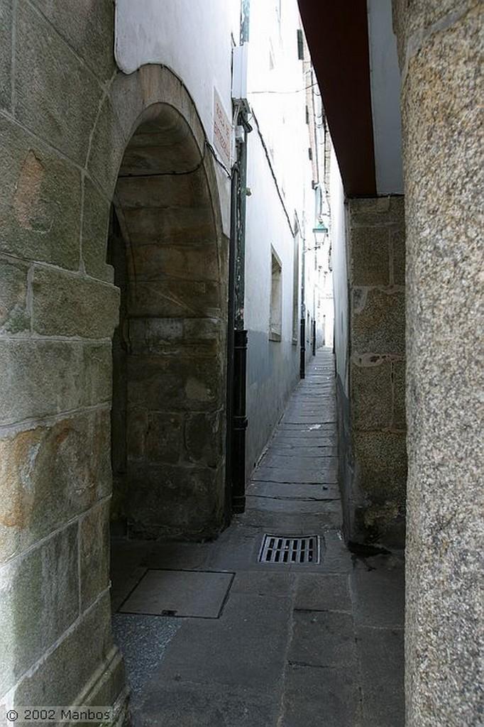 Santiago de Compostela Detalle de la Fachada Galicia