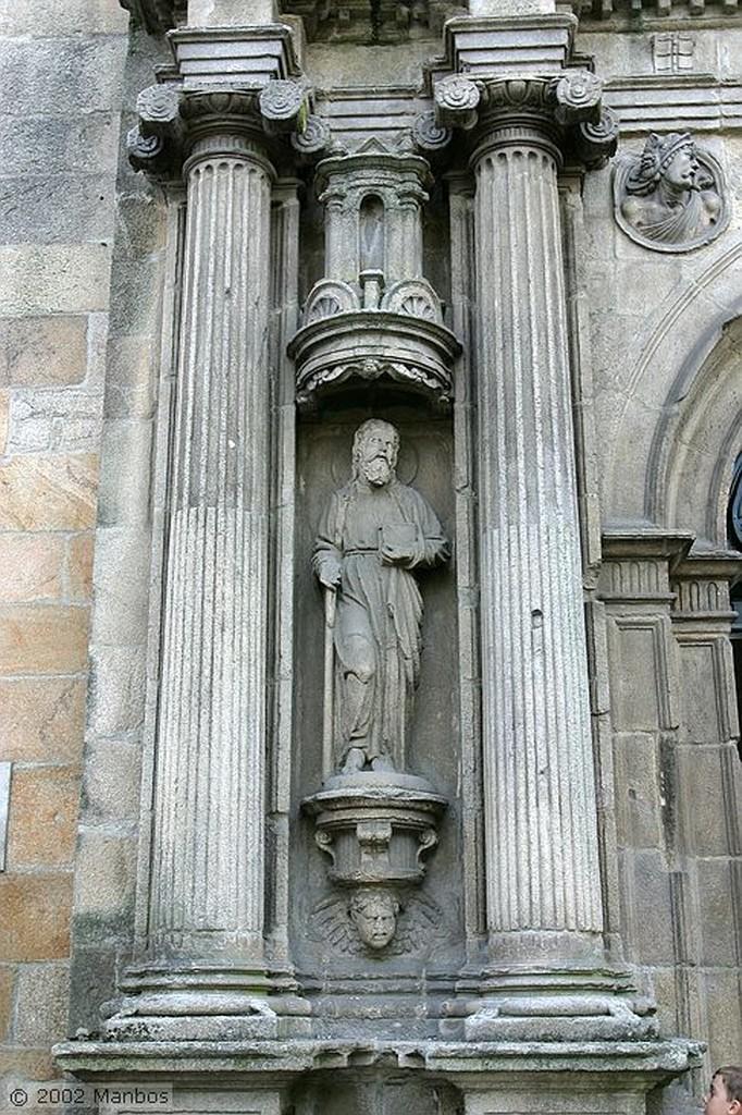 Santiago de Compostela Claustro Galicia